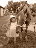 My little princess Cowgirl Hailey Jo